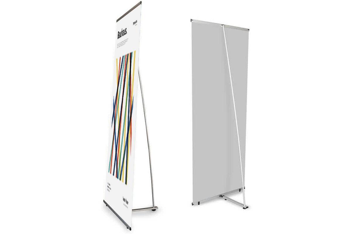 L-banner, l'espositore dal design innovativo