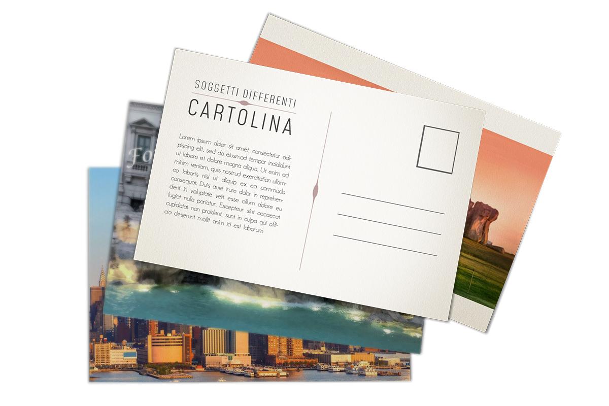 Cartoline in vari soggetti