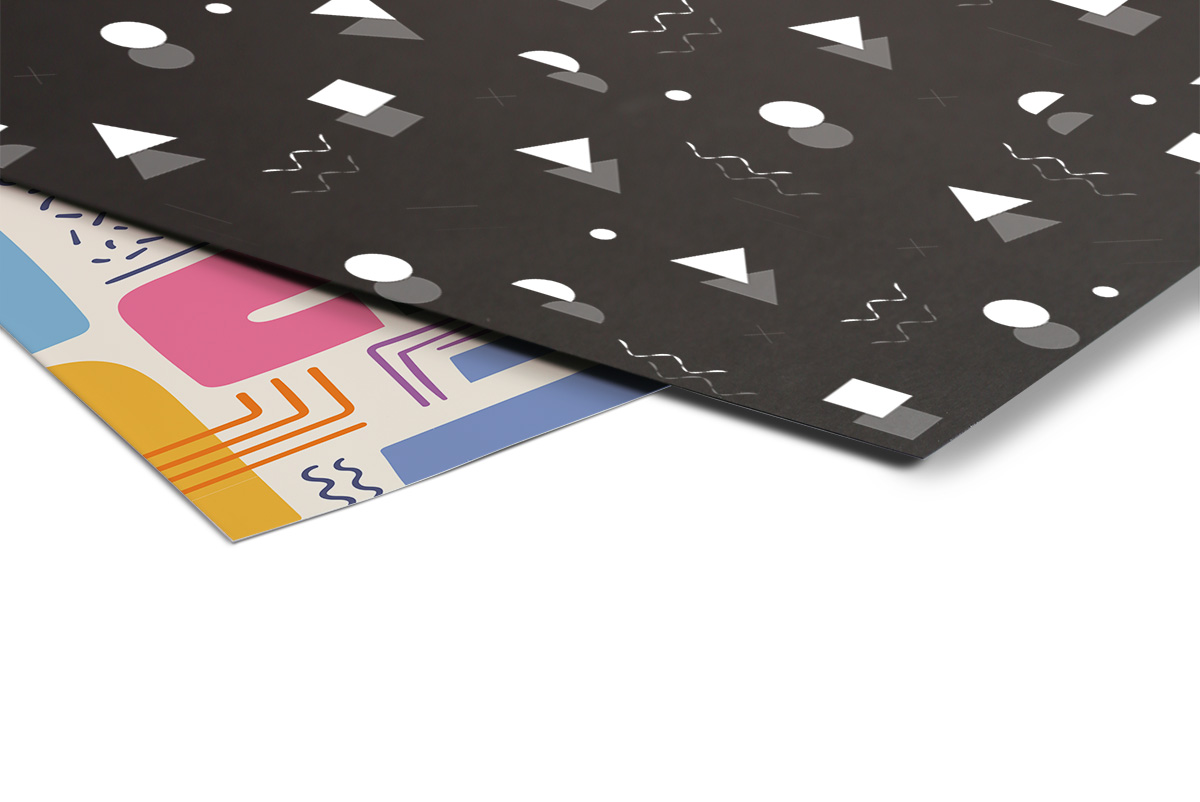 stampa su cartoncino